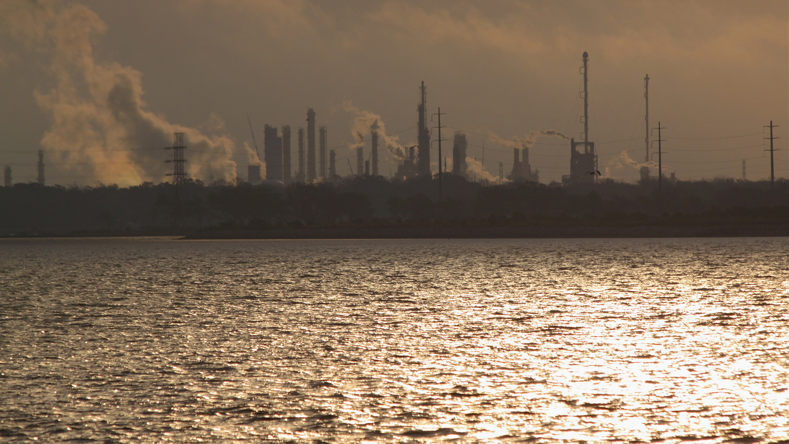 <h4>v. EXXONMOBIL</h4><h5>After our sister group Environment Texas filed suit, a federal judge ordered Exxon to pay a $14.25 million fine for committing 16,386 days of violation of the Clean Air Act at the company's Baytown, Texas, refinery and chemical plant complex.</h5><em>Roy Luck via Flickr, CC-BY-2.0</em>